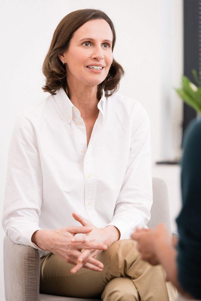 Eva Boos, Business Coach Berlin, Vorgespräch
